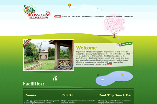 Illustrated Website