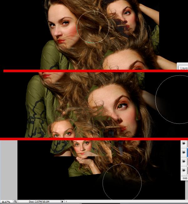 10 Montagem de quatro fotos no Photoshop photoshop