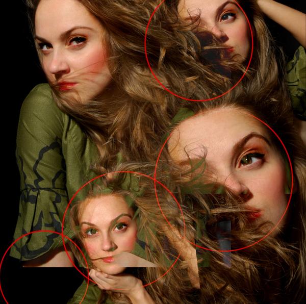 11 Montagem de quatro fotos no Photoshop photoshop