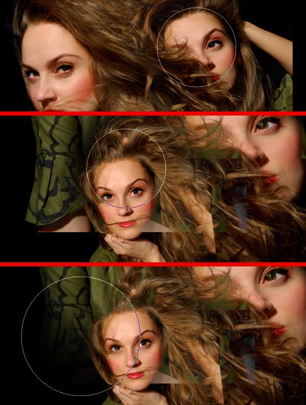 12 Montagem de quatro fotos no Photoshop photoshop