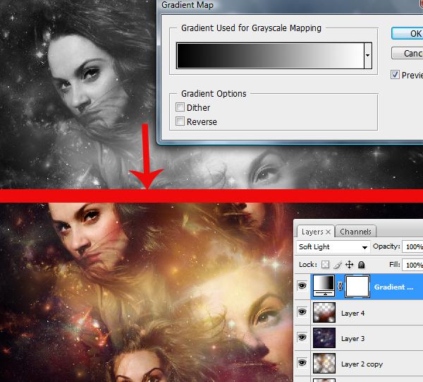 28 Montagem de quatro fotos no Photoshop photoshop