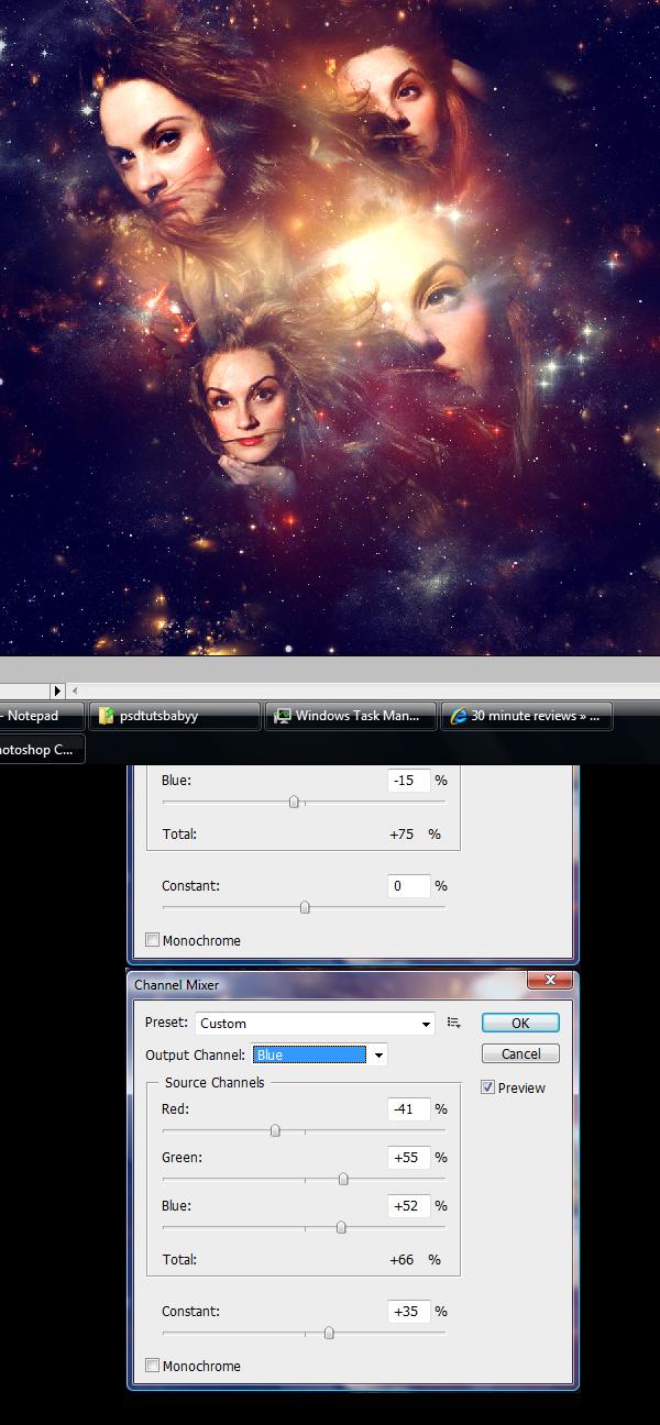 31 Montagem de quatro fotos no Photoshop photoshop