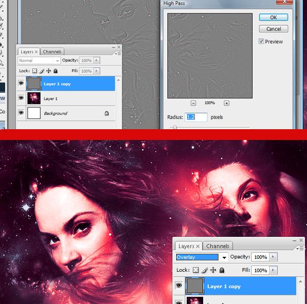 36 Montagem de quatro fotos no Photoshop photoshop