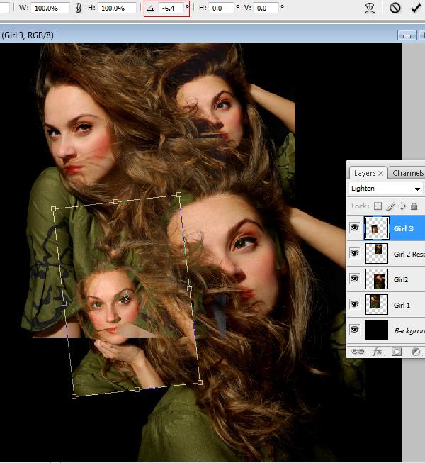 7 Montagem de quatro fotos no Photoshop photoshop