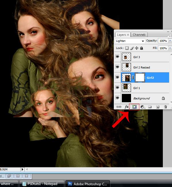 8 Montagem de quatro fotos no Photoshop photoshop