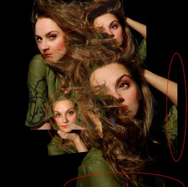 9 Montagem de quatro fotos no Photoshop photoshop