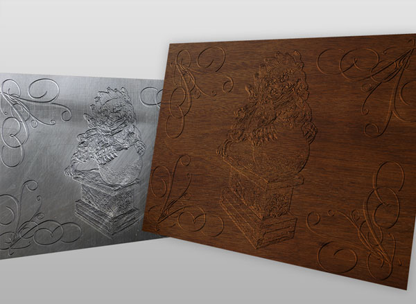 Quick Tip: Create a Bas Relief Effect With Photoshop's 3D Tools