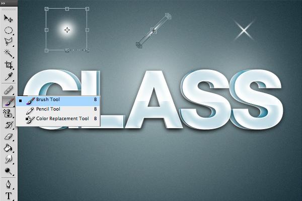 20 Hiệu Ứng 3D Text trong Photoshop: Chữ Glass