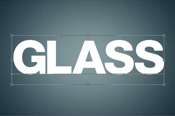 5 Hiệu Ứng 3D Text trong Photoshop: Chữ Glass