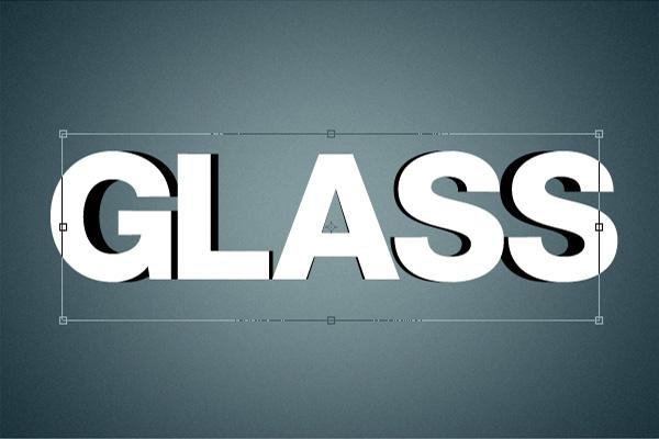 6 Hiệu Ứng 3D Text trong Photoshop: Chữ Glass