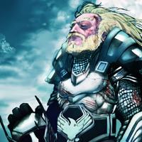 Desenhe um cavaleiro guerreiro vitorioso no Photoshop
