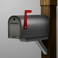 Draw a 3D Mailbox With Photoshop