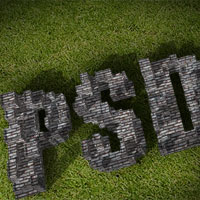 Use Google Sketchup and Photoshop to Create 3D Typography