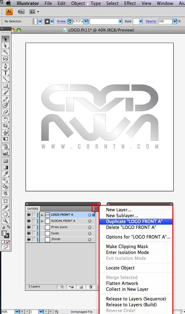 STEP 04 Tạo Typography 3D Thủy Tinh trong Photoshop và Illustrator