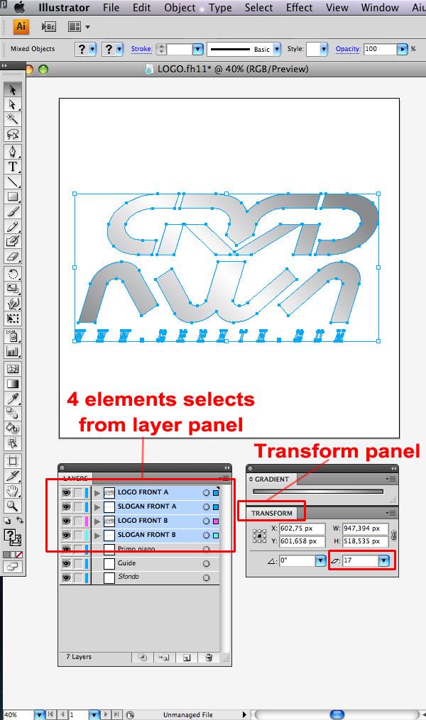 STEP 06 Tạo Typography 3D Thủy Tinh trong Photoshop và Illustrator