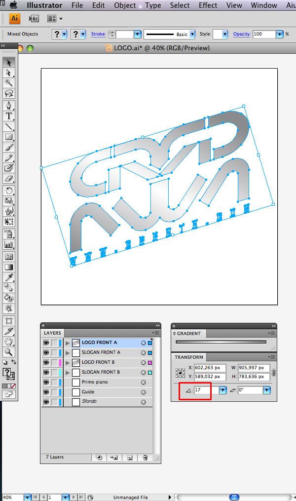 STEP 07 Tạo Typography 3D Thủy Tinh trong Photoshop và Illustrator
