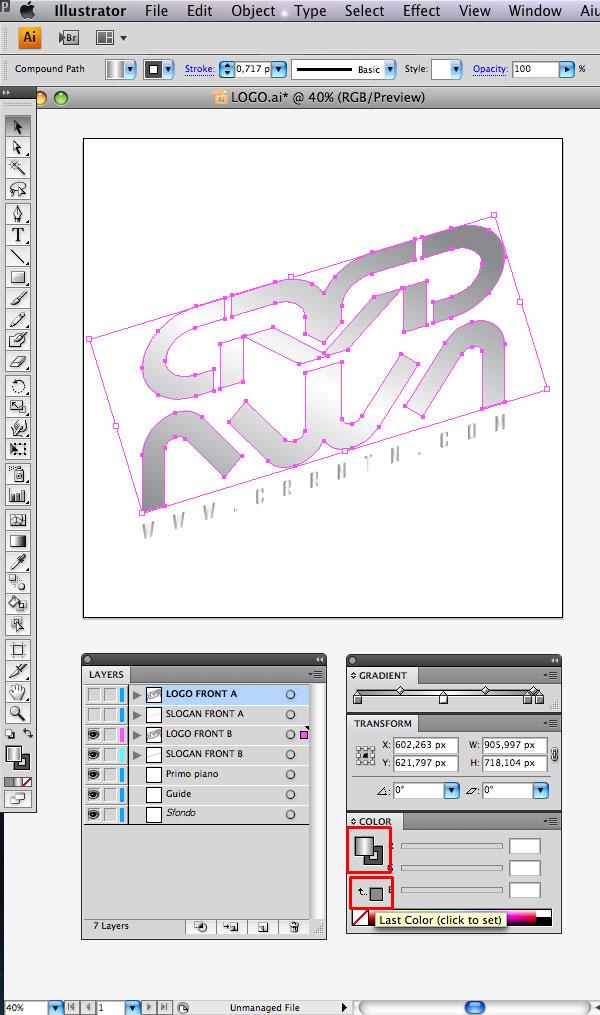 STEP 09 Tạo Typography 3D Thủy Tinh trong Photoshop và Illustrator