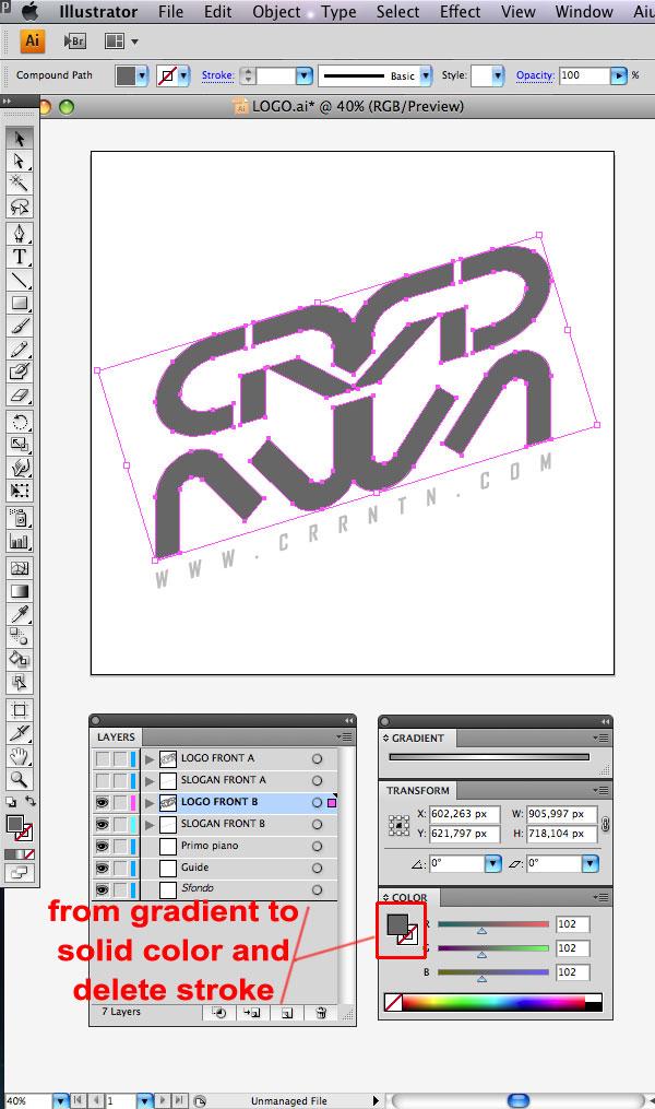 STEP 10 Tạo Typography 3D Thủy Tinh trong Photoshop và Illustrator