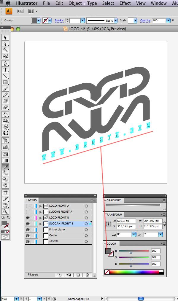 STEP 11 Tạo Typography 3D Thủy Tinh trong Photoshop và Illustrator