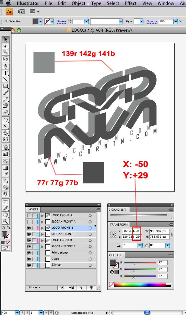 STEP 12 Tạo Typography 3D Thủy Tinh trong Photoshop và Illustrator