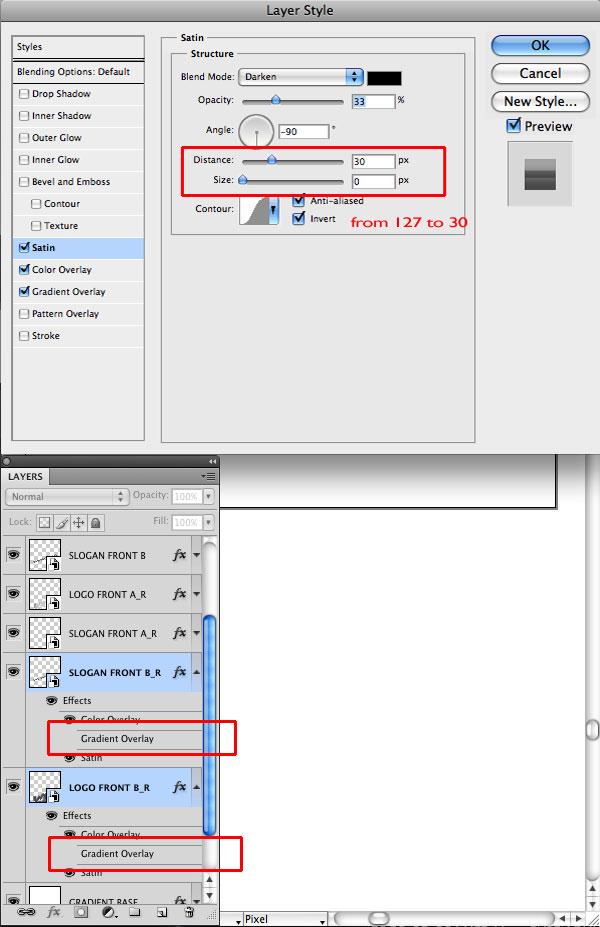 STEP 29 Tạo Typography 3D Thủy Tinh trong Photoshop và Illustrator