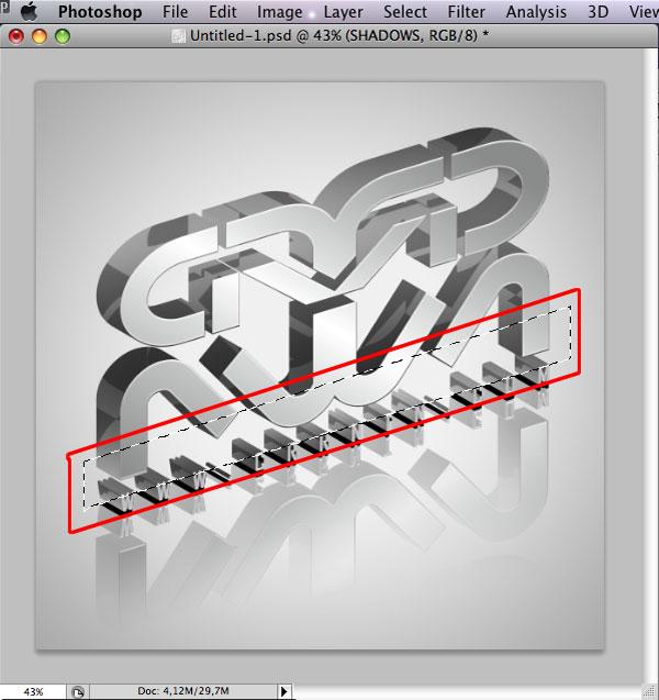 STEP 36 Tạo Typography 3D Thủy Tinh trong Photoshop và Illustrator