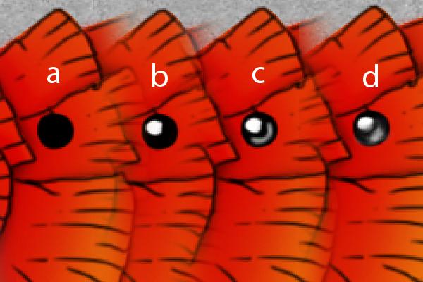 Создаем иллюстрацию рыбок как в мультике *