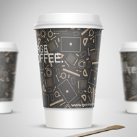 Coffee Cup Design by Gorm Haraldsson