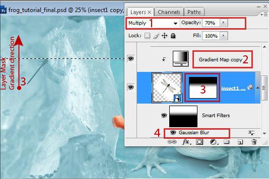 1 61 Chú Ếch Bắc Cực trong Photoshop