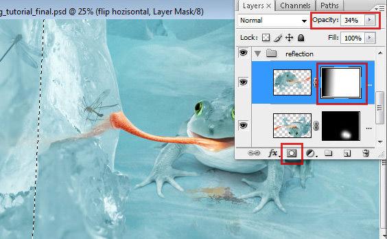 1 75 Chú Ếch Bắc Cực trong Photoshop