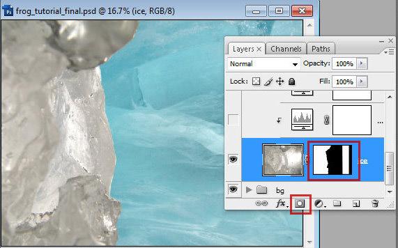 1 9 Chú Ếch Bắc Cực trong Photoshop