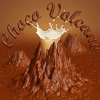 Create a Chocolate Volcano Using 3D Effects