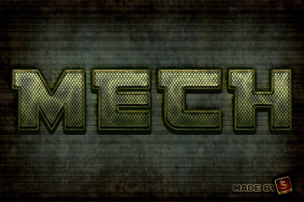 Quick Tip: Create a Mech-Inspired Text Effect in Photoshop Using Layer Styles