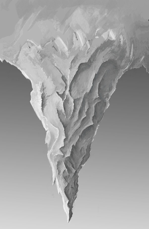 step2 5 - Create a Surreal Upside Down Mountain Painting in Photoshop