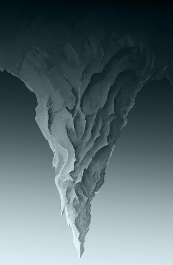 step3 2 - Create a Surreal Upside Down Mountain Painting in Photoshop