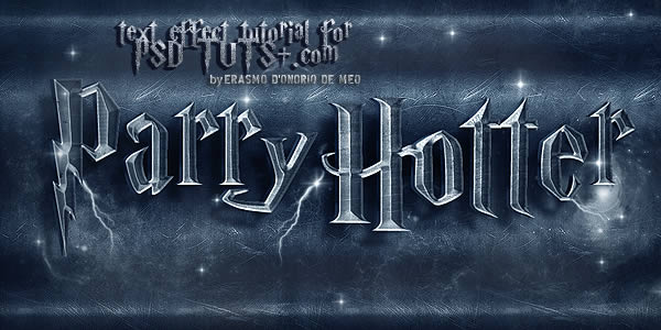 "Cara Mudah Membuat ""Harry Potter"" Text Effect"