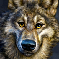 Amazing Digital Animal Paintings of Patrick LaMontagne