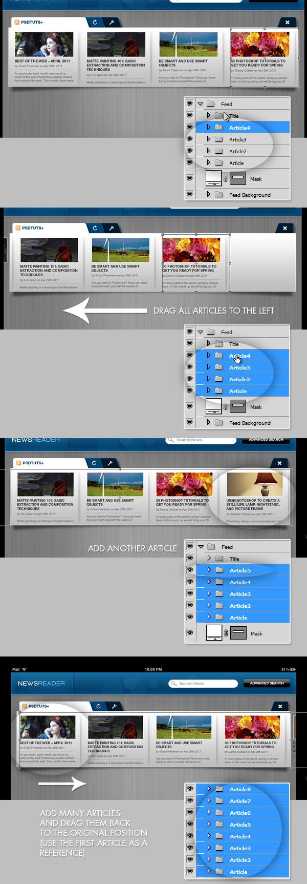 How to Animate a Demo of an iPad App with Photoshop(转载) - 800bu - {800Bu}