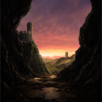 Create a Medieval Landscape in Photoshop
