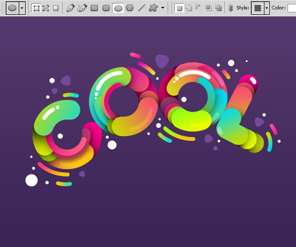"41 Sử Dụng Paths Tạo Typography ""Cool"" trong Photoshop"