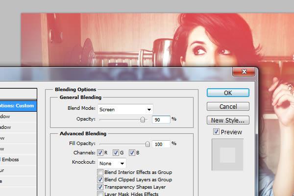 Học 6 Tạo Ánh Sáng Leaks và Hiệu Ứng Lomo trong Photoshop