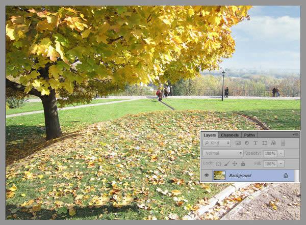 Học step002 2 Hiệu Ứng Text Mùa Thu với Photoshop CS6 Mở Rộng (P1)
