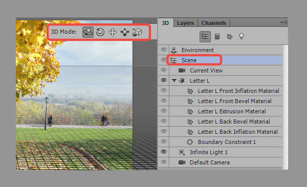 Học step004 Hiệu Ứng Text Mùa Thu với Photoshop CS6 Mở Rộng (P1)
