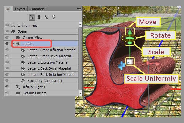 Học step008 Hiệu Ứng Text Mùa Thu với Photoshop CS6 Mở Rộng (P1)