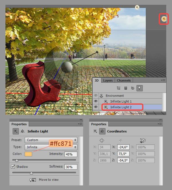 Học step013 2 Hiệu Ứng Text Mùa Thu với Photoshop CS6 Mở Rộng (P1)