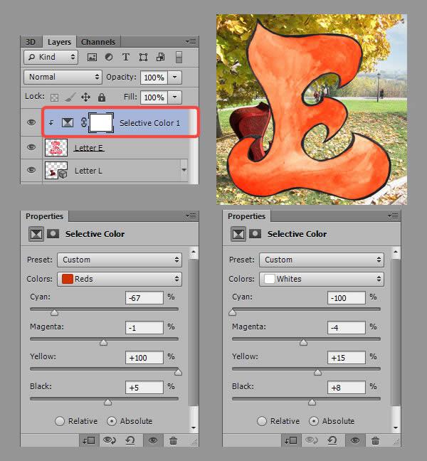 Học step015 2 Hiệu Ứng Text Mùa Thu với Photoshop CS6 Mở Rộng (P1)