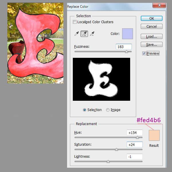 Học step015 Hiệu Ứng Text Mùa Thu với Photoshop CS6 Mở Rộng (P1)
