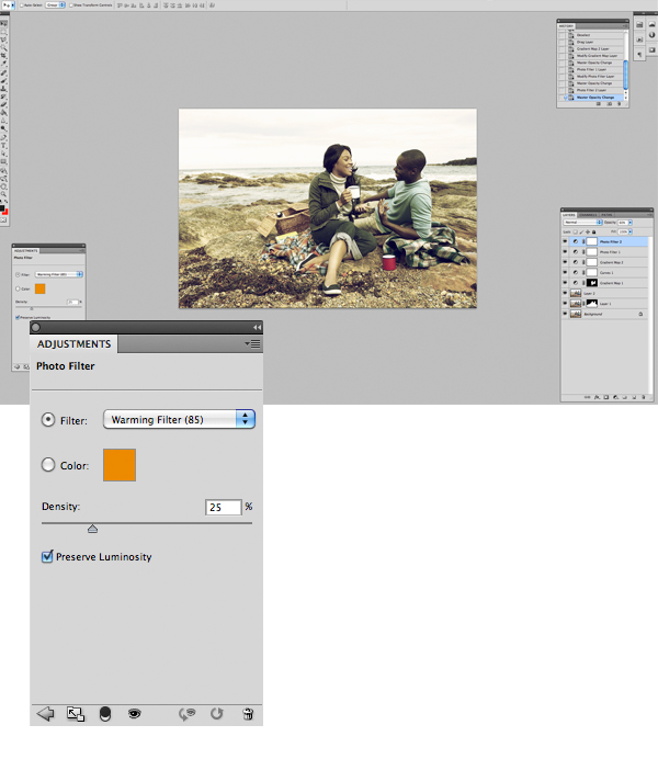 Image 10 Tăng hiệu ứng màu sắc cho bức ảnh trong photoshop