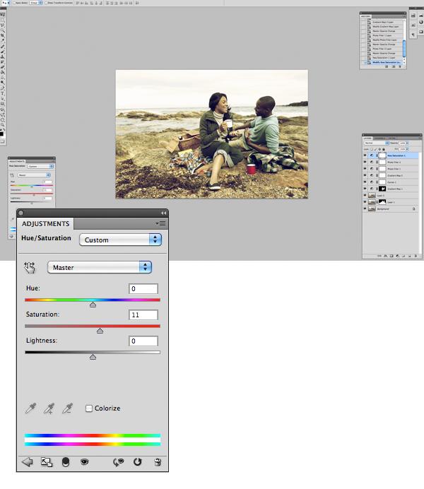 Image 11 Tăng hiệu ứng màu sắc cho bức ảnh trong photoshop