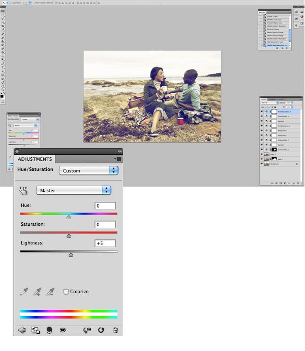 Image 14 Tăng hiệu ứng màu sắc cho bức ảnh trong photoshop